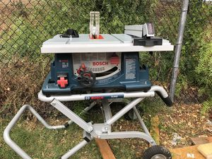 Bosch 4100 Table Saw for Sale in Fremont, CA