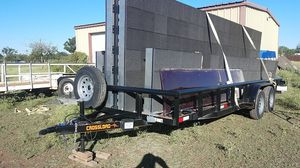 NEW 20ft Heavy Duty Utility Trailer for Sale in San Angelo, TX