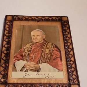 5 X 3 1/2 Pope Picture For Wall Display for Sale in Southington, CT