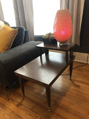 Set of two mid-century modern end tables for Sale in Cary, NC