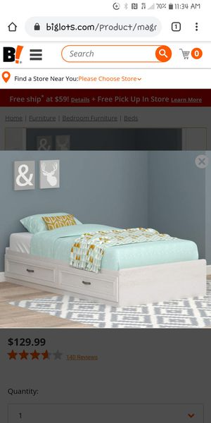 Twin bed frame for Sale in Broadview Heights, OH