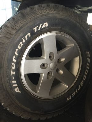 "18"" Jeep Wrangler Wheels and Tires for Sale in Miami, FL"