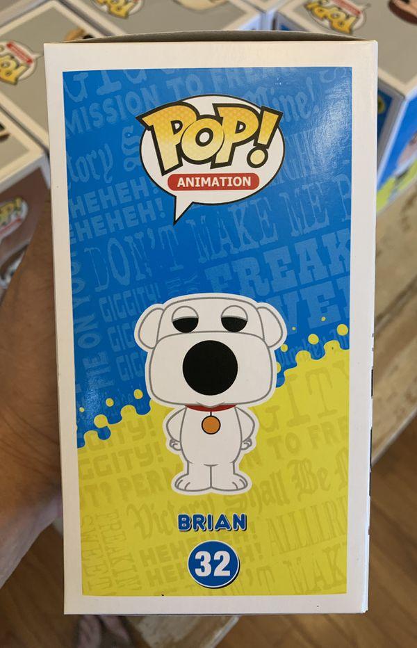 Funko POP! Family Guy Brian