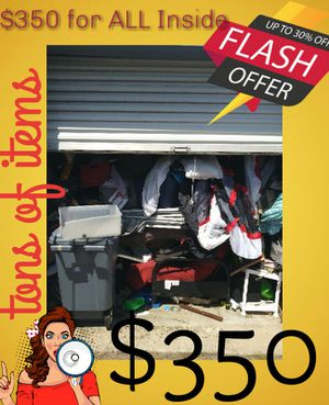 Storage unit full of household stuff for Sale in Fort Worth, TX