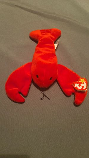 Rare Beanie Baby Pinchers the lobster original tags June 19 1993 for Sale in Nokesville, VA
