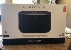 Brand New Harman Kardon Citation 300 Smart Speaker for Sale in Scottsdale, AZ