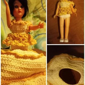Vintage toilet paper cover, girl doll for Sale in South Bend, IN