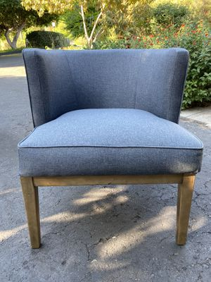 Set of two navy lounge chairs for Sale in El Cajon, CA
