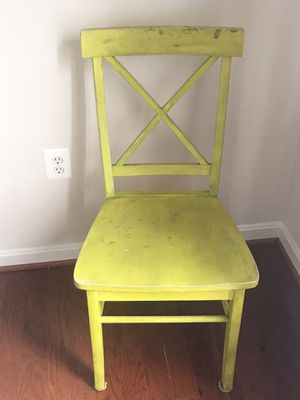 Real Wood Chair for Sale in Gainesville, VA