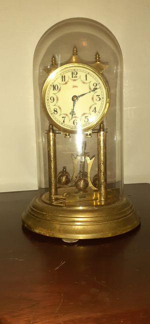 Antique desk clock with globe. for Sale in Glyndon, MD