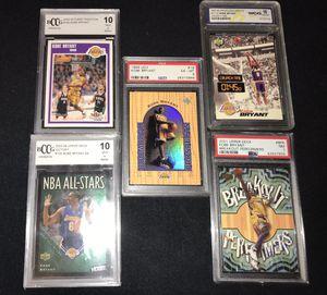 Kobe Bryant graded cards for Sale in Ontario, CA