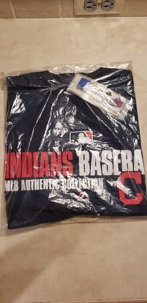 Authentic Collection INDIANS BASEBALL tee shirt size M for Sale in Hayward, CA