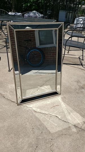 Large mirror with studded detail for Sale in Denver, CO