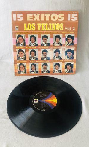 Rare Record! 15 Exitos Los Felinos Vol. 2 Latin Music Rare Record LP Vinyl. for Sale in El Cajon, CA