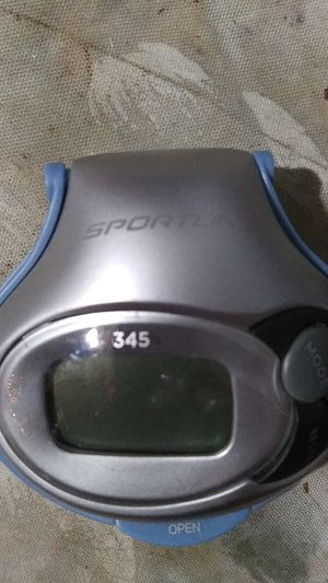 SPORTLINE PEDOMETER 345 for Sale in Phillips Ranch, CA