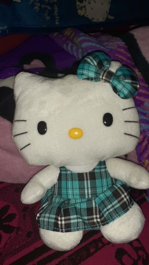 Hello kitty blue stripes 9inch for Sale in Houston, TX