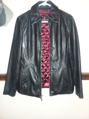 Wilson's Black Leather Jacket with removable Thinsulate lining. for Sale in Fitzgerald, GA
