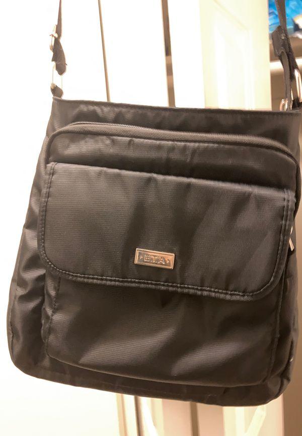 ETA Purse/Travel Bag (Black) Like New!