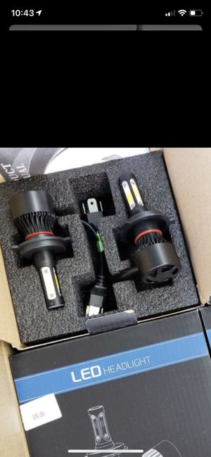 LED Car led headlights kit leds H4 H7 H8 H9 and H11 /H10 /9003 and 9004/9005/HB3 and 9006/HB4 and 9007/9008 H13 All size in stock Pick up w for Sale in Blacklick, OH