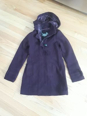 Purple dress coat size 7/8 for Sale in Schaumburg, IL