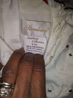 Strasburg Heirloom collection flower girl dress for Sale in Greenville, SC