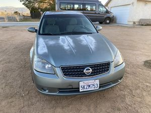 2005 nissan altima for Sale in Apple Valley, CA