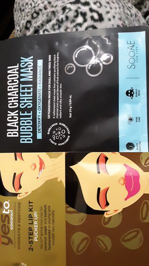 Face and lip mask for Sale in Modesto, CA