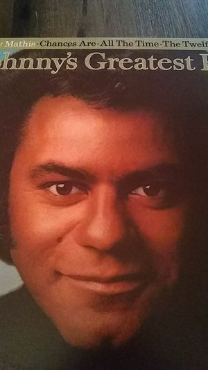Johnny Mathis greatest Hits vinyl record for Sale in Modesto, CA