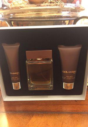 NEW Men's DOLCE & GABANNA Fragrance Set for Sale in Houston, TX