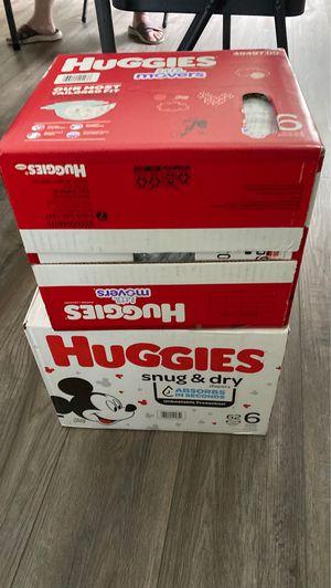 diapers huggis for Sale in Douglasville, GA
