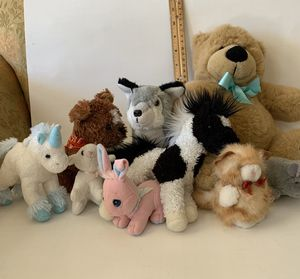 Stuffed animals, 3 inch to 9 inch for Sale in Wylie, TX