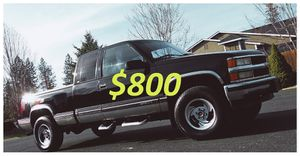 🍁1998 CHEVROLET SILVERADO TU/UP FOR SALE * ZERO ISSUES > RUNS AND DRIVES LIKE NEW!- $800 for Sale in Washington, DC