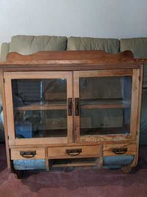 Antique Kitchen Storage Wall Mount Cabinet for Sale in City of Industry, CA