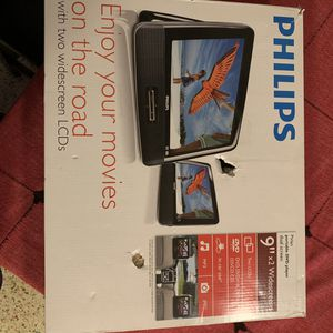 "Philips PD9016 Car DVD Player - 9"" LCD for Sale in Hialeah, FL"