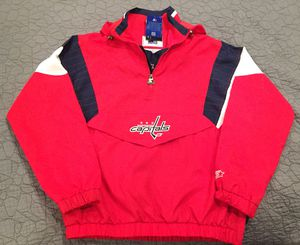 WASHINGTON CAPITALS STARTER G-III BREAKAWAY PULLOVER JACKET for Sale in Ashburn, VA