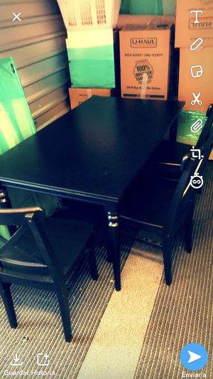 table. with three chairs for Sale in Herndon, VA