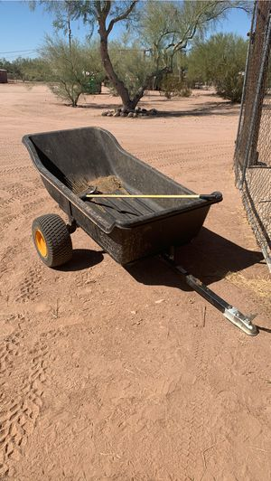 ATV dump trailer with ball hitch for Sale in Apache Junction, AZ