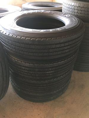 Commercial truck and trailer tires ! Llantas para camión y traila ! for Sale in Riverside, CA