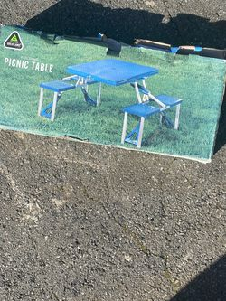 Camp Or Patio Picnic Table. New In Box for Sale in Snohomish,  WA