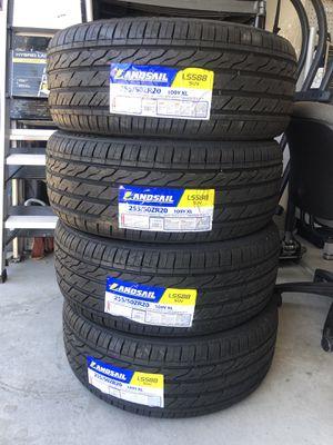 Brand new 255/50/r20 full set tires for Sale in Las Vegas, NV