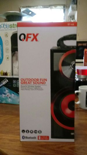 QFX168 MP3 Player Boombox Stereo Speaker W/ Radio for Sale in Hannibal, MO