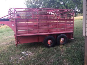 Cattle trailer. for Sale in Kyle, TX