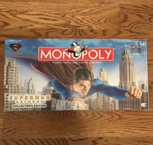 Superman monopoly for Sale in Thompson's Station, TN