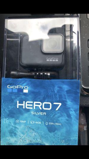 Go pro hero 7 silver for Sale in Dallas, TX