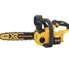 DEWALT 12 in. 20V MAX Lithium-Ion Cordless Brushless Chainsaw (Tool Only) for Sale in Las Vegas,  NV