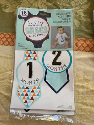 Belly brags stickers new for Sale in Falls Church, VA