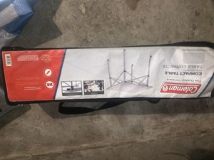 Coleman compact camping table for Sale in Sacramento, CA
