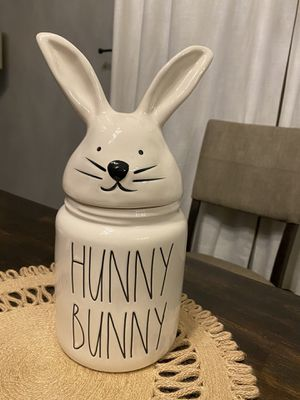 Rae Dunn Hunny Bunny Canister for Sale in Highland, CA