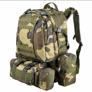 55L Molle Tactical Army Military Rucksacks Backpack Camping Outdoor Hiking Traveling Trekking Bag for Sale in Chino, CA