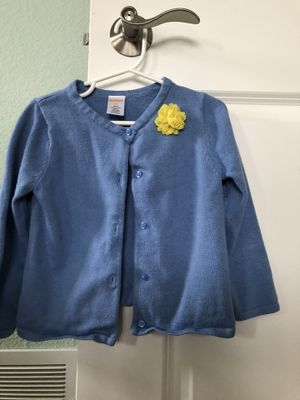 Toddler girl button up cardigan 3T for Sale in Pleasant Prairie, WI